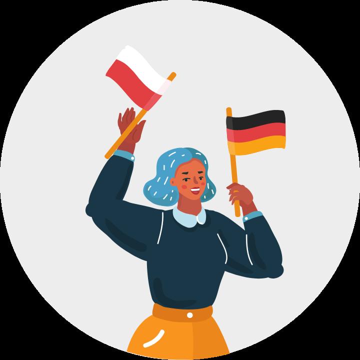 Warunki polskie i niemieckie