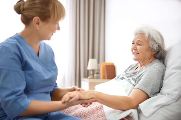 opieka nad osobą ze stomią