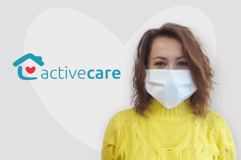 maseczki ochronne dla opiekunek active care